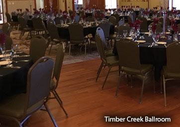 Photo of Timber Creek ballroom