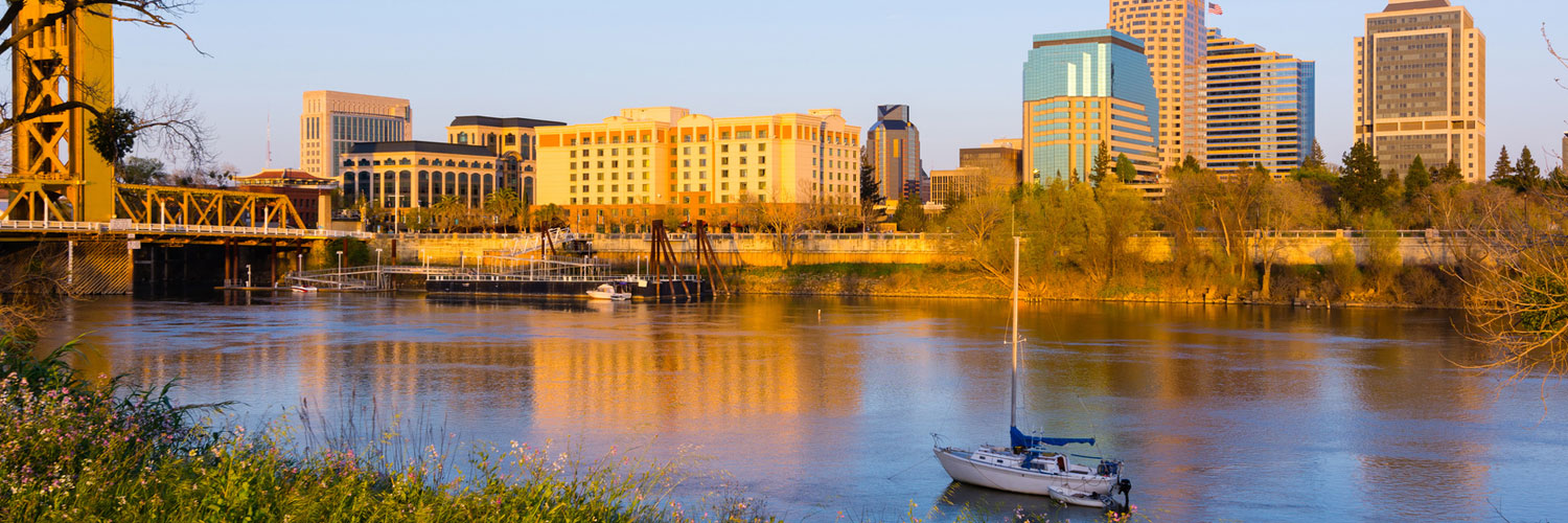 Photo of Sacramento River and Downtown
