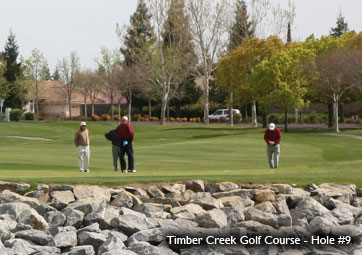 Timber Creek Golf Course ~ Hole 9
